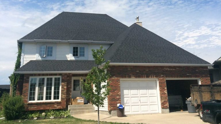 large roofing job in winnipeg